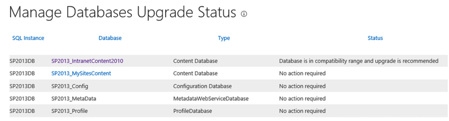 SharePoint database migration to 2013 troubleshooting