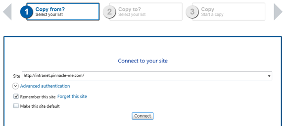 SharePoint List Items Migration