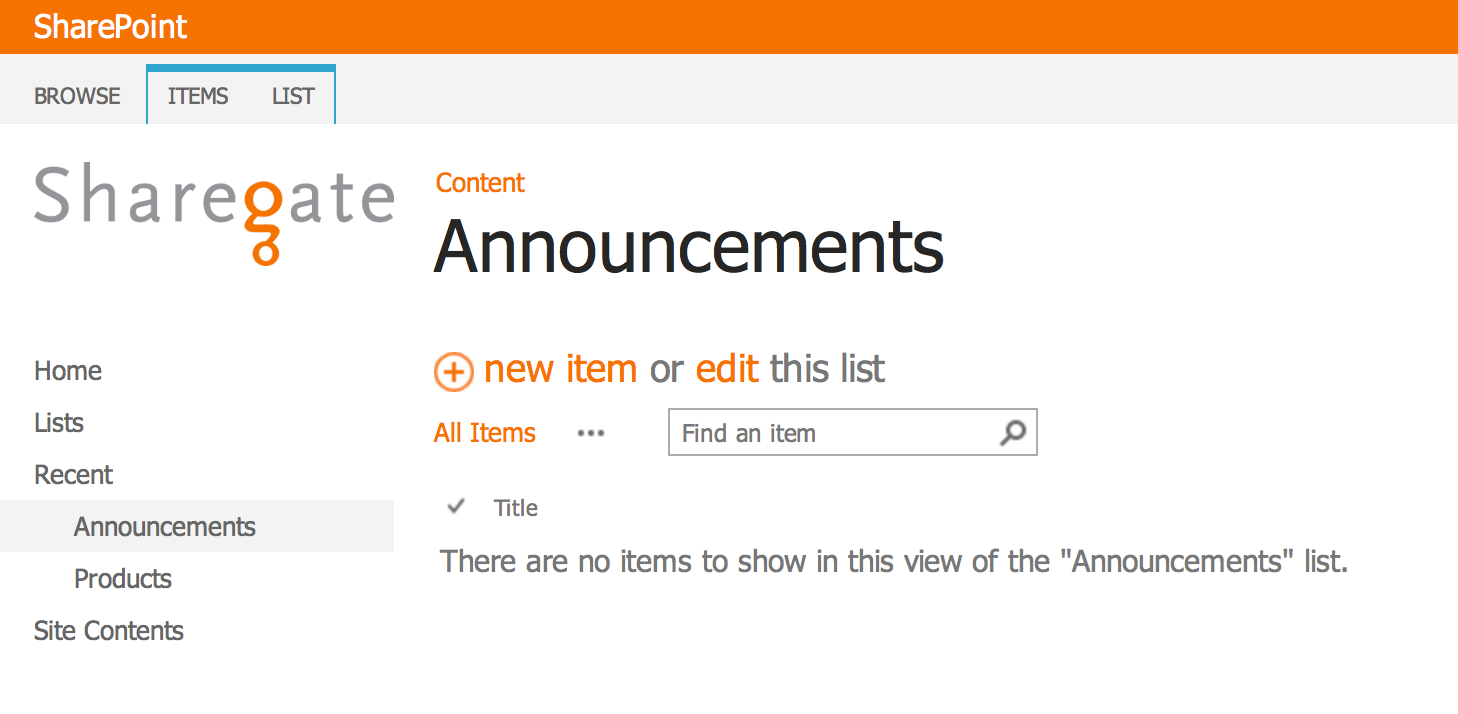 Migrating to SharePoint 2013, use the Product Catalog