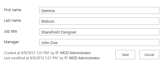 How to create an organizational chart with SharePoint and Office 2013
