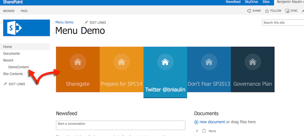 Build a sharepoint search driven animated menu sharegate for Free sharepoint designer templates