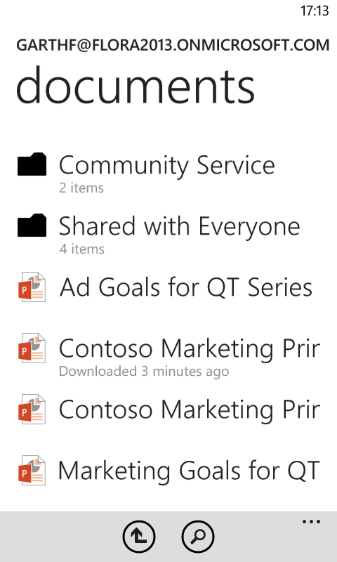 SharePoint Collaboration Office 365 Personal Documents on Devices
