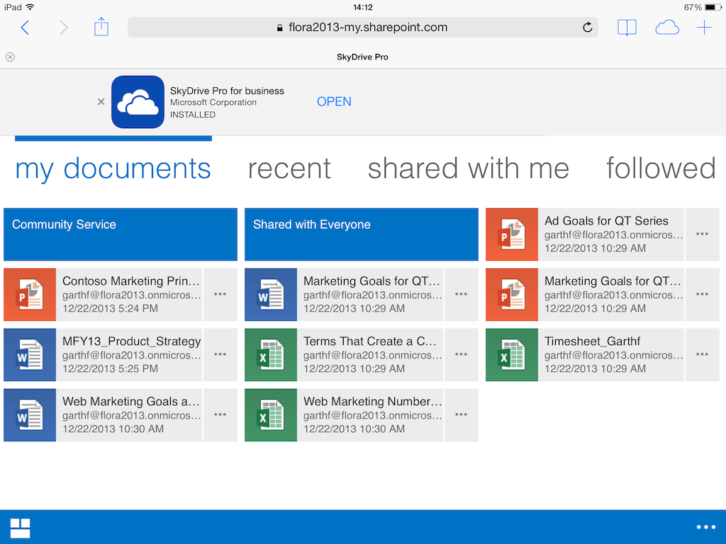 Office 365: Working with personal documents | Sharegate