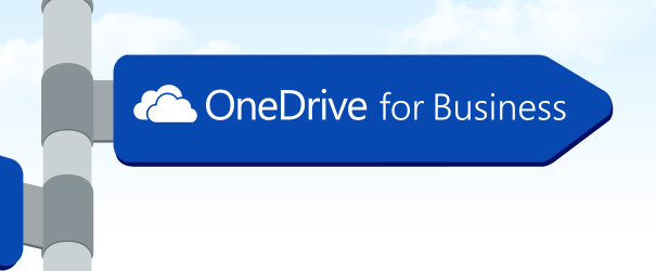 OneDrive for Business sign