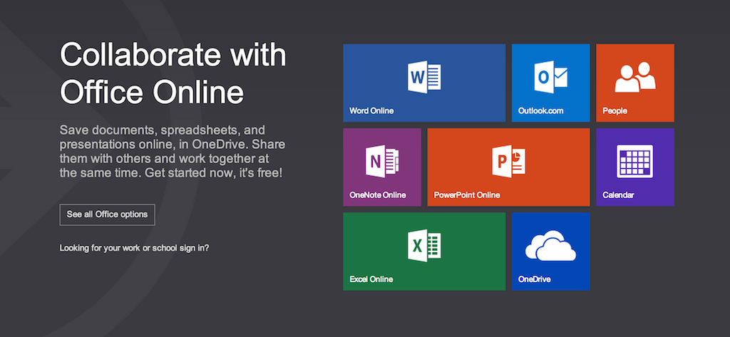 The new Office Web Apps free on Office.com