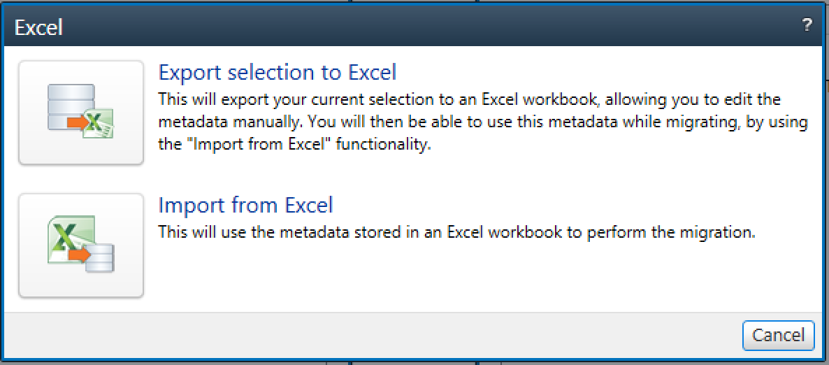 Sharegate SharePoint Migration Export Excel