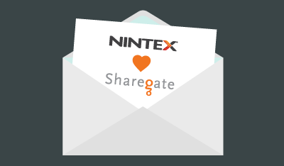 Sharegate & Nintex Announce Partnership to Move Customers to Office 365