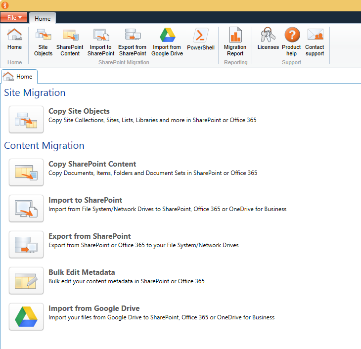 Import Google Drive to SharePoint and Office 365