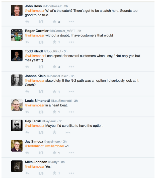 Twitter reactions to SharePoint 2010 to SharePoint 2016 migration