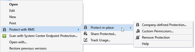 Protect SharePoint Docs with RMS