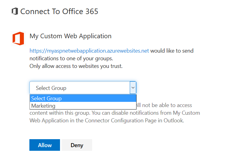 webhook Office 365 Connectors