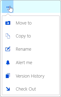 Move and Copy Files from your OneDrive for Business to Team Sites