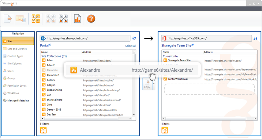 Migrate to Any SharePoint or Office 365