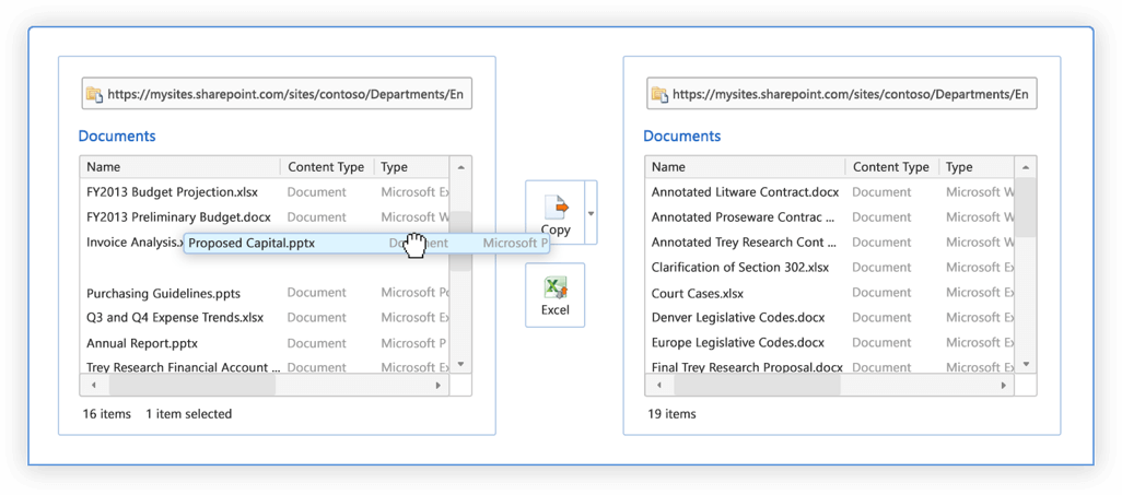SharePoint Management - Restructure Existing Content