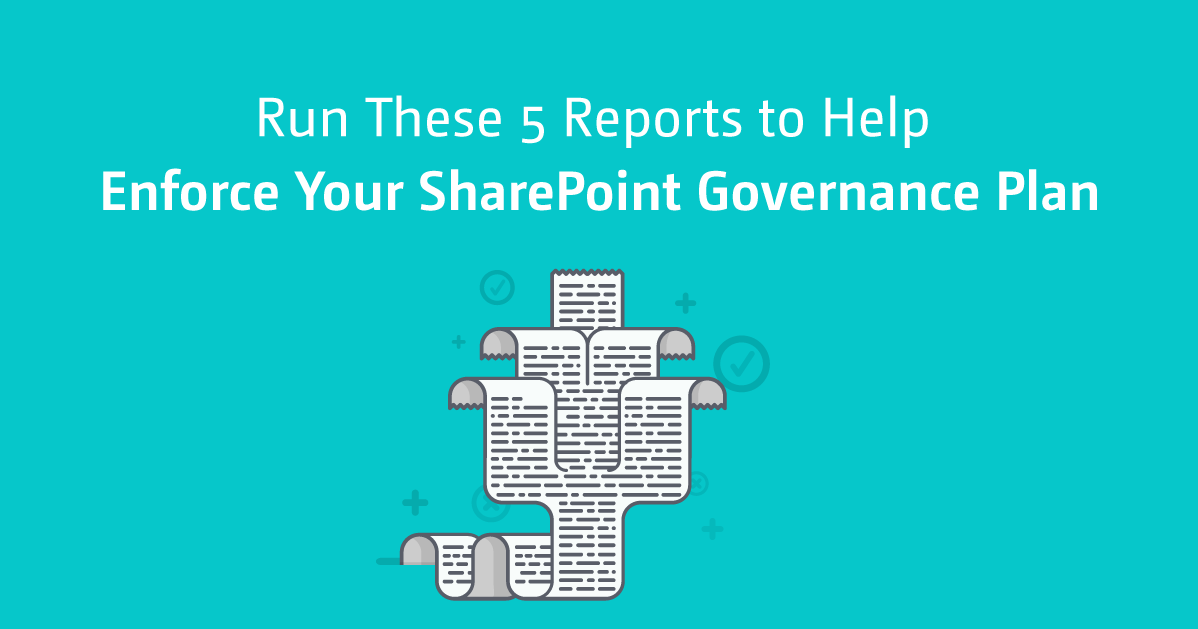 How To Enforce Your SharePoint Governance Plan | Sharegate