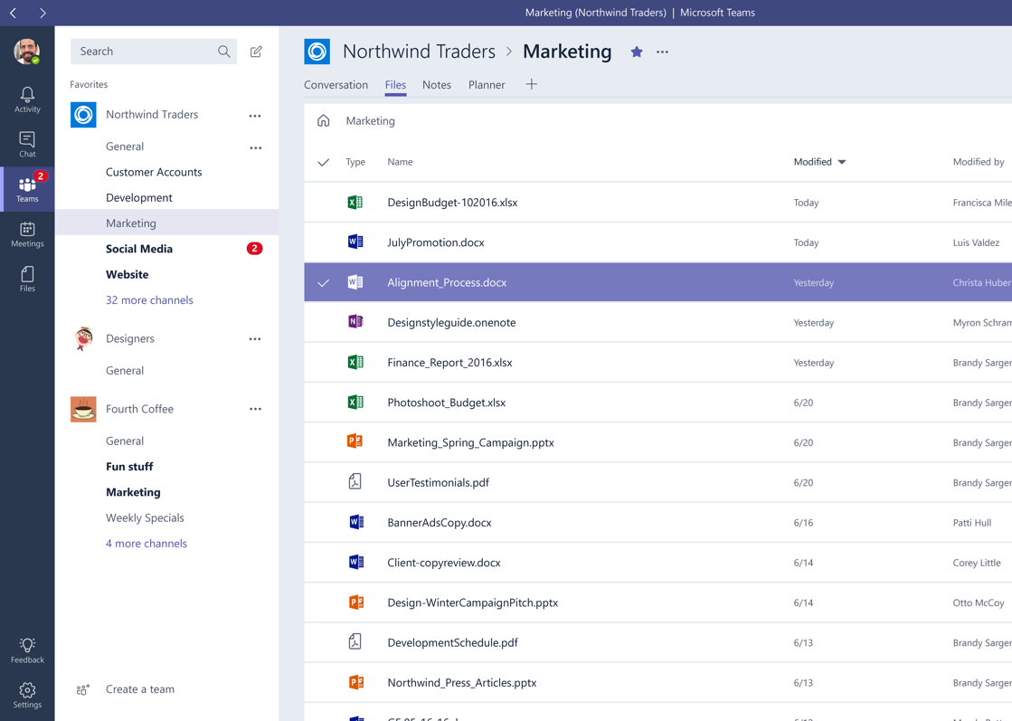 Share Documents in Microsoft Teams