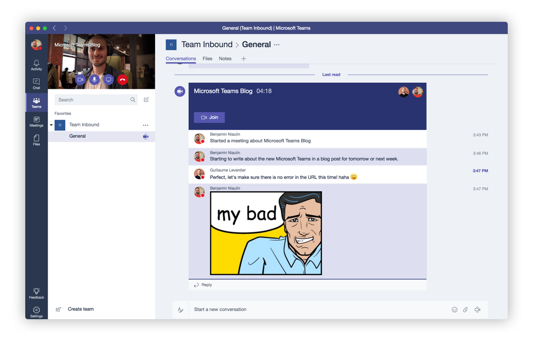 Microsoft Teams Conversations Office 365 Groups