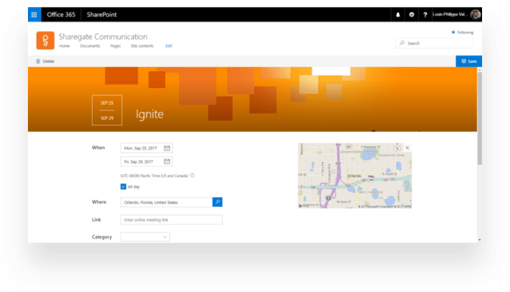 Bing search integration for Communication sites in SharePoint Online