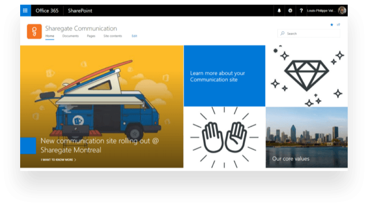 Hero web part in Communication sites SharePoint Online